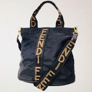 🆕 Fendi Signature  Two way Shoulder Bag